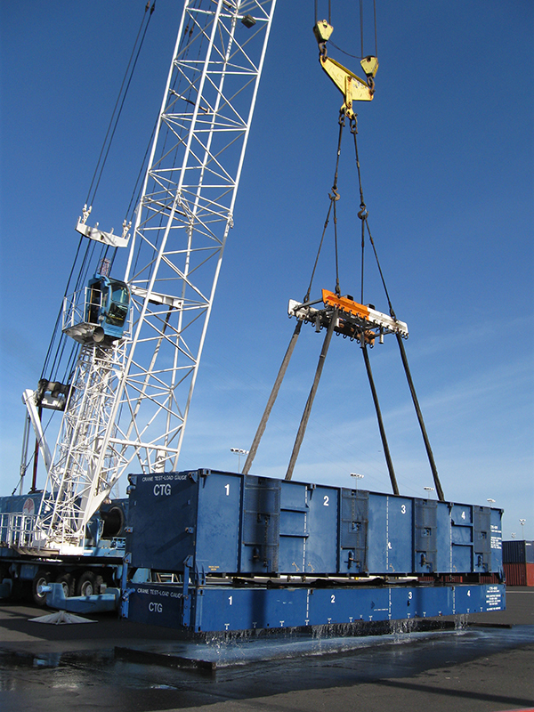 Total Maritime Service - Crane Test Load Gauge
